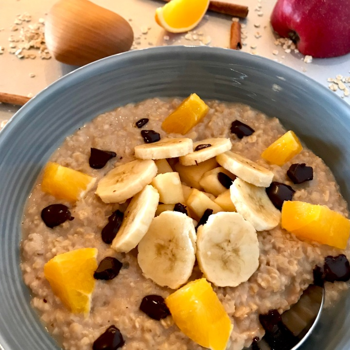 Winterlicher Porridge